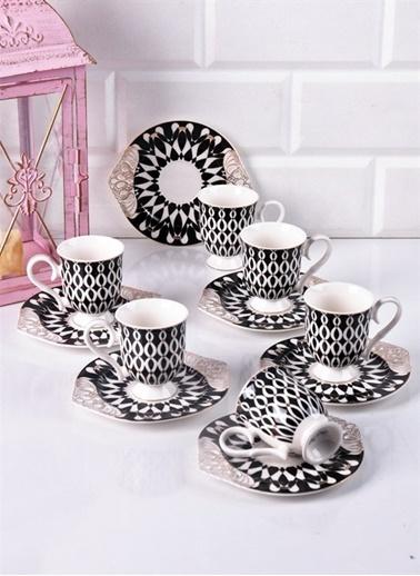 Bayev Lüx Ayaklı Kahve Fincanı No 1 Renkli